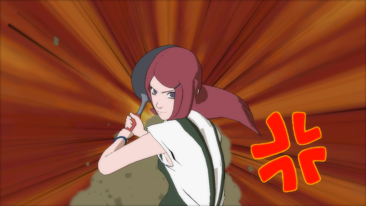 Naruto Shippuden Ultimate Ninja Storm Revolution kushina 8