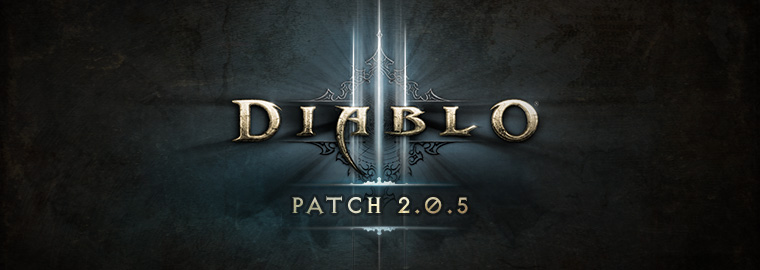 diablo 3 patch 2.0.5