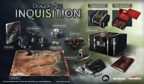 dragon age inquisition edizione da 170 dollari