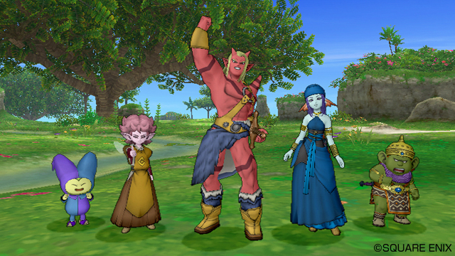 dragon quest x 1205