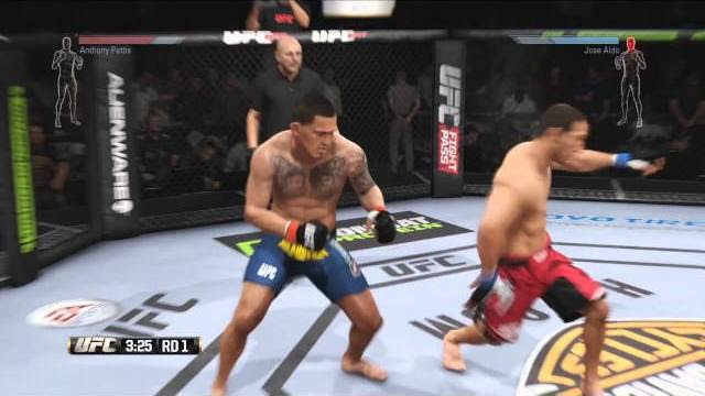 ea sports ufc jose aldo vs anthony pettis
