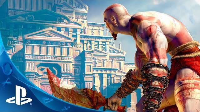 god of war collection ps vita trailer