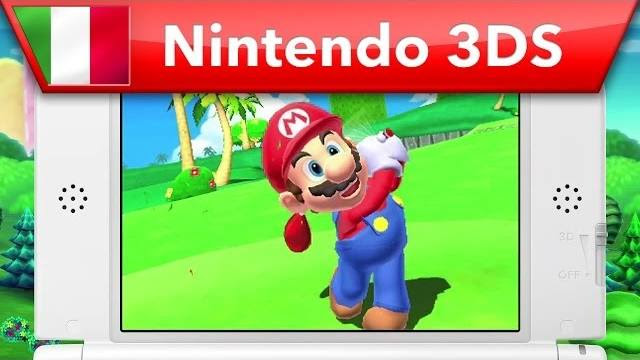 mario golf world tour trailer lancio