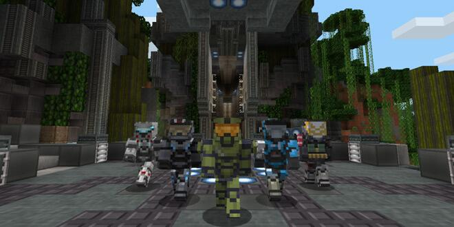 master chief su minecraft