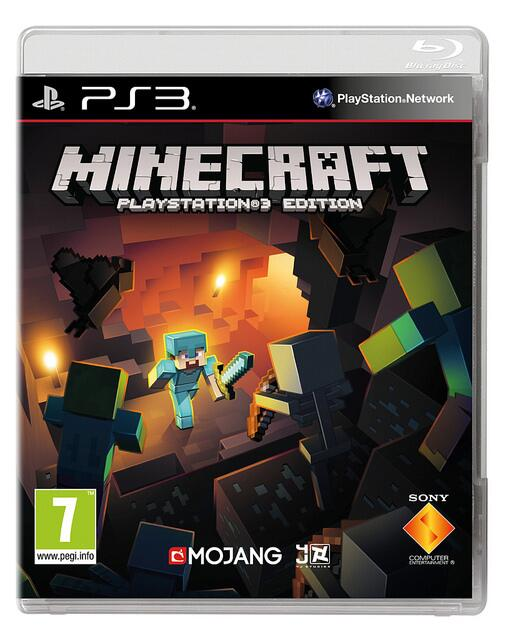 minecraft playstation 3 edition copertina