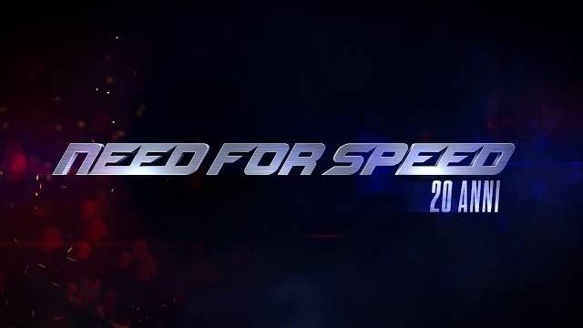 need for speed 20 anni trailer