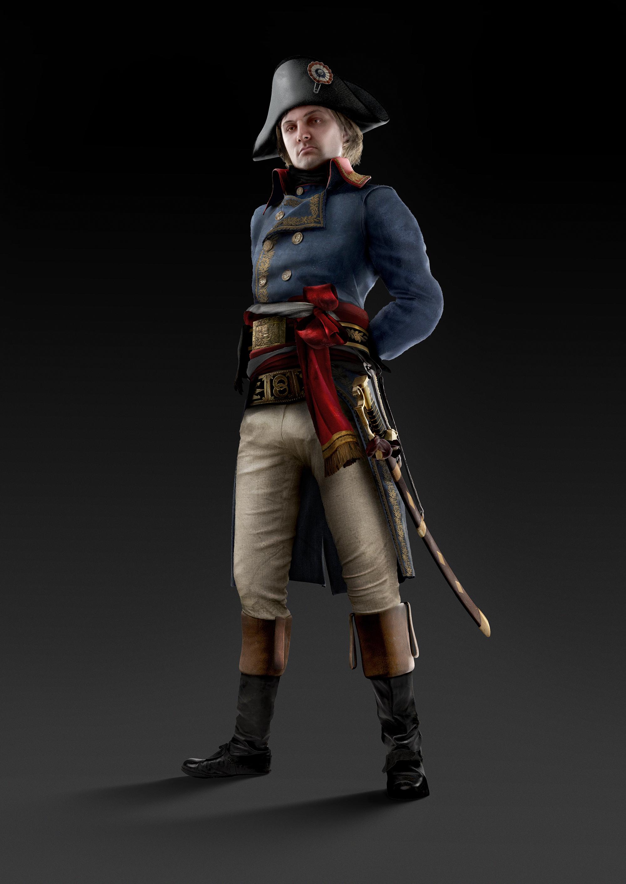 Assassin's Creed Unity E3 2014 artwork Napoleone ...