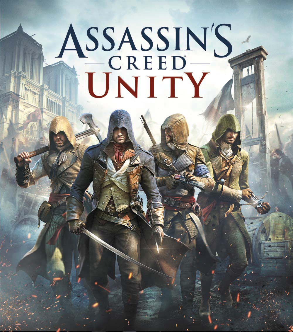 Assassin's Creed Unity E3 2014 artwork copertina