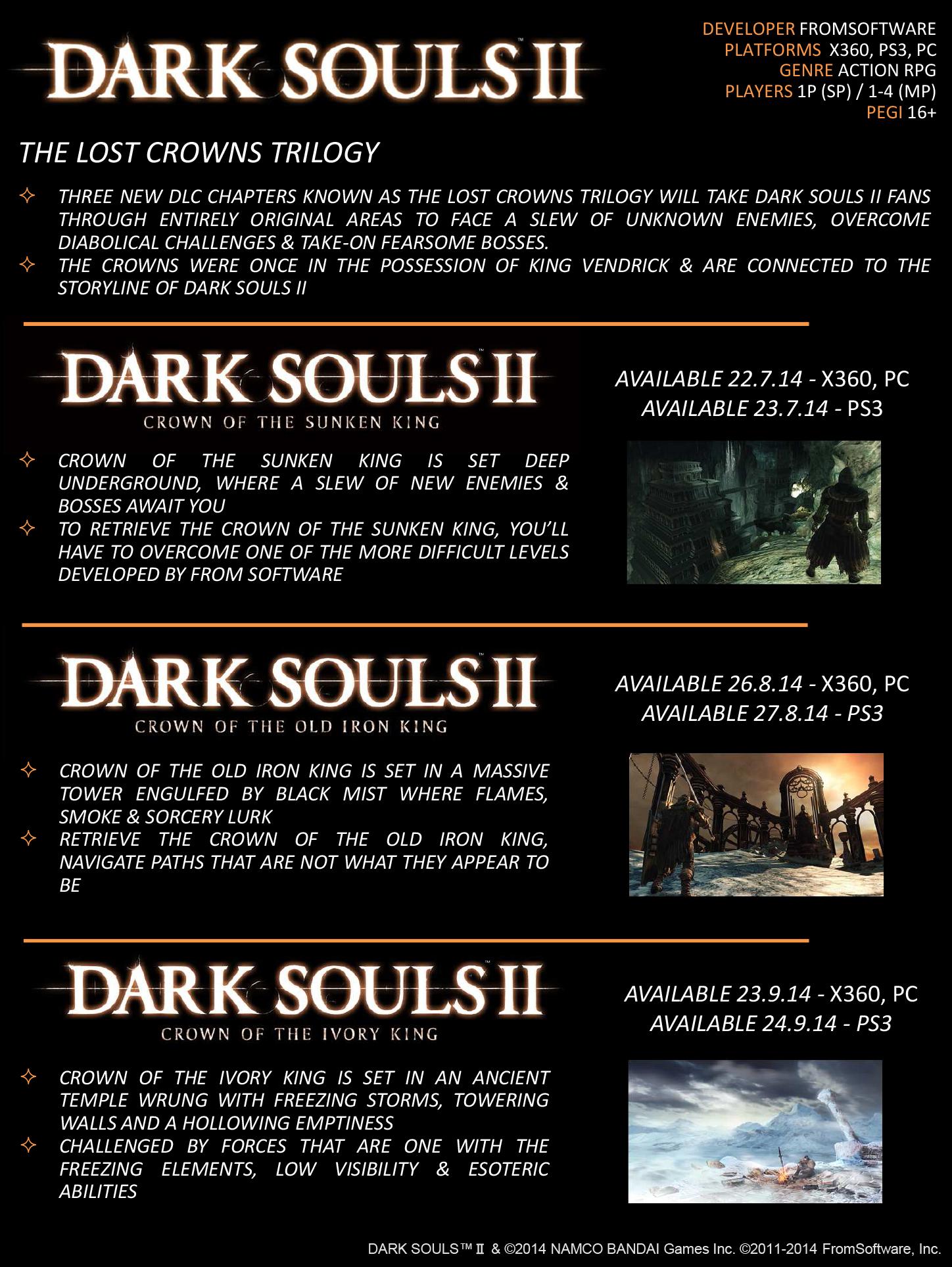 Dark Sousl 2 trilogia dlc