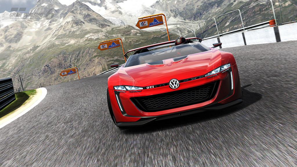 GT 6 volkswagen GTI Roadster Vision Gran Turismo