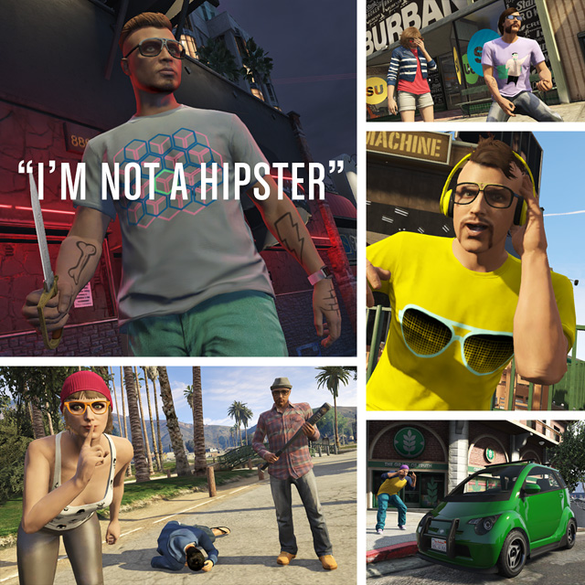 GTA V io non sono un hipster