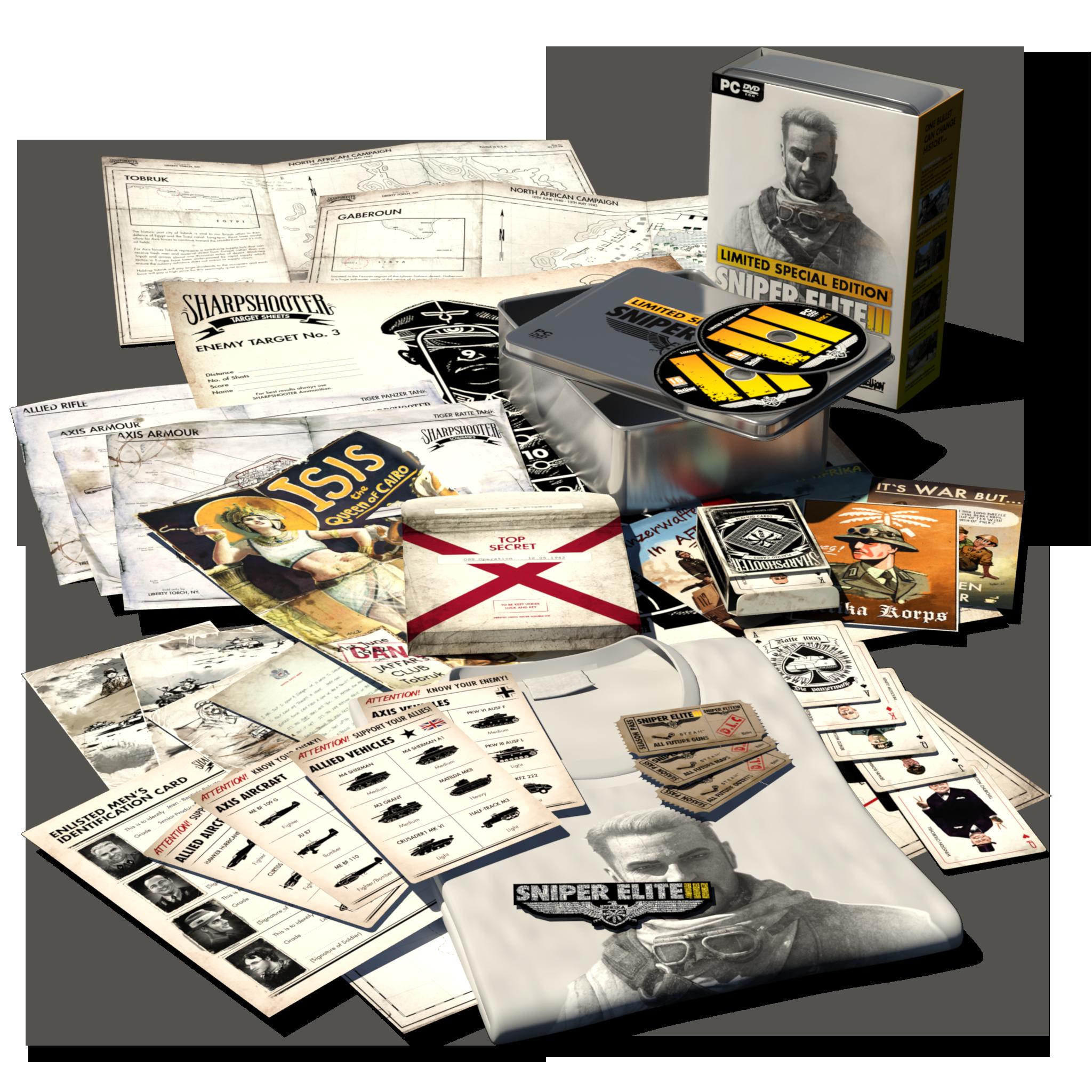Sniper Elite III special edition