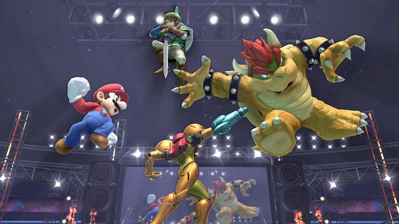 Super smash bross wii u E3 2014