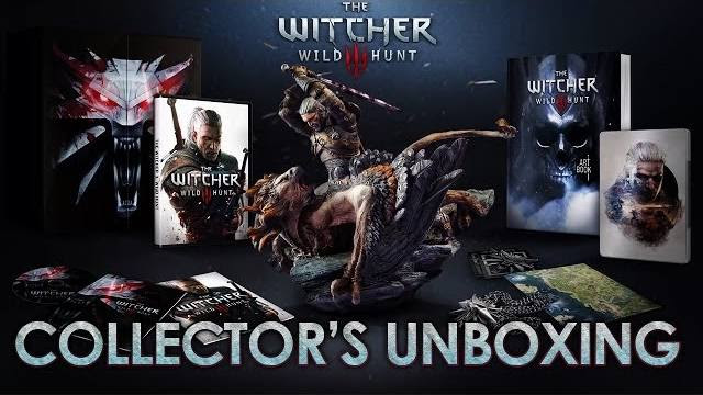 The Witcher 3 collector's edition video unboxing