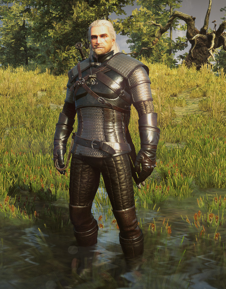 Witcher-3-Geralt-model