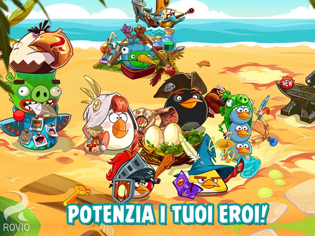angry birds epic personaggi