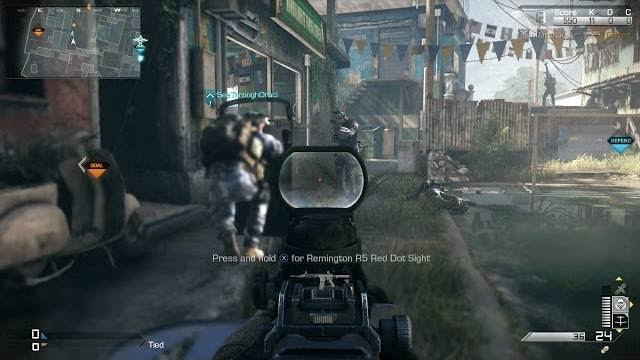 cod ghosts favela map