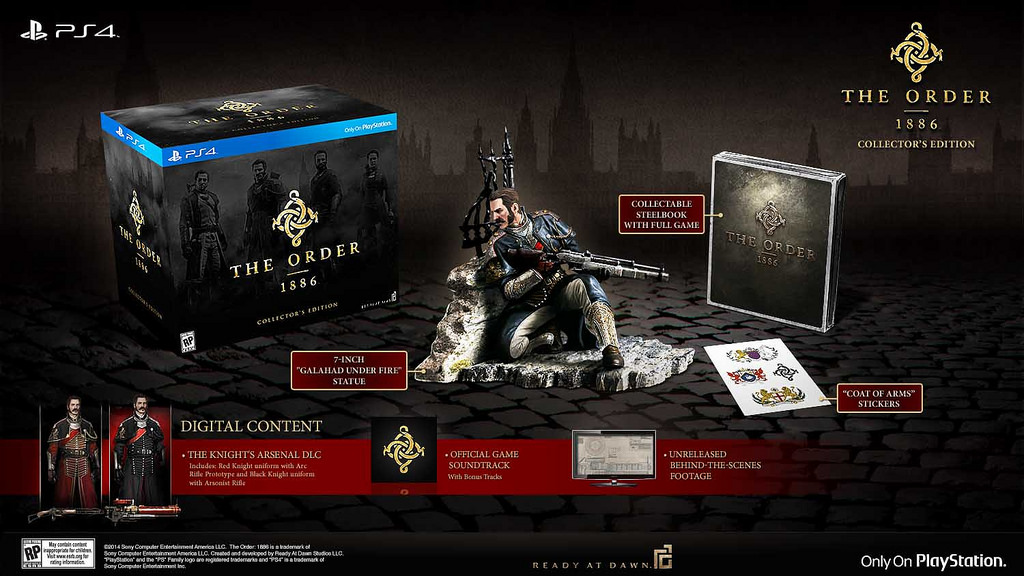 the_order_1886_e3_collector's edition
