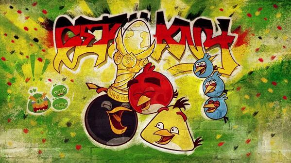 Angry Birds Germania campione del Mondo
