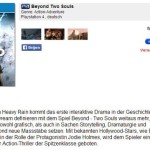Beyond-Two-Souls avvistato per PS4