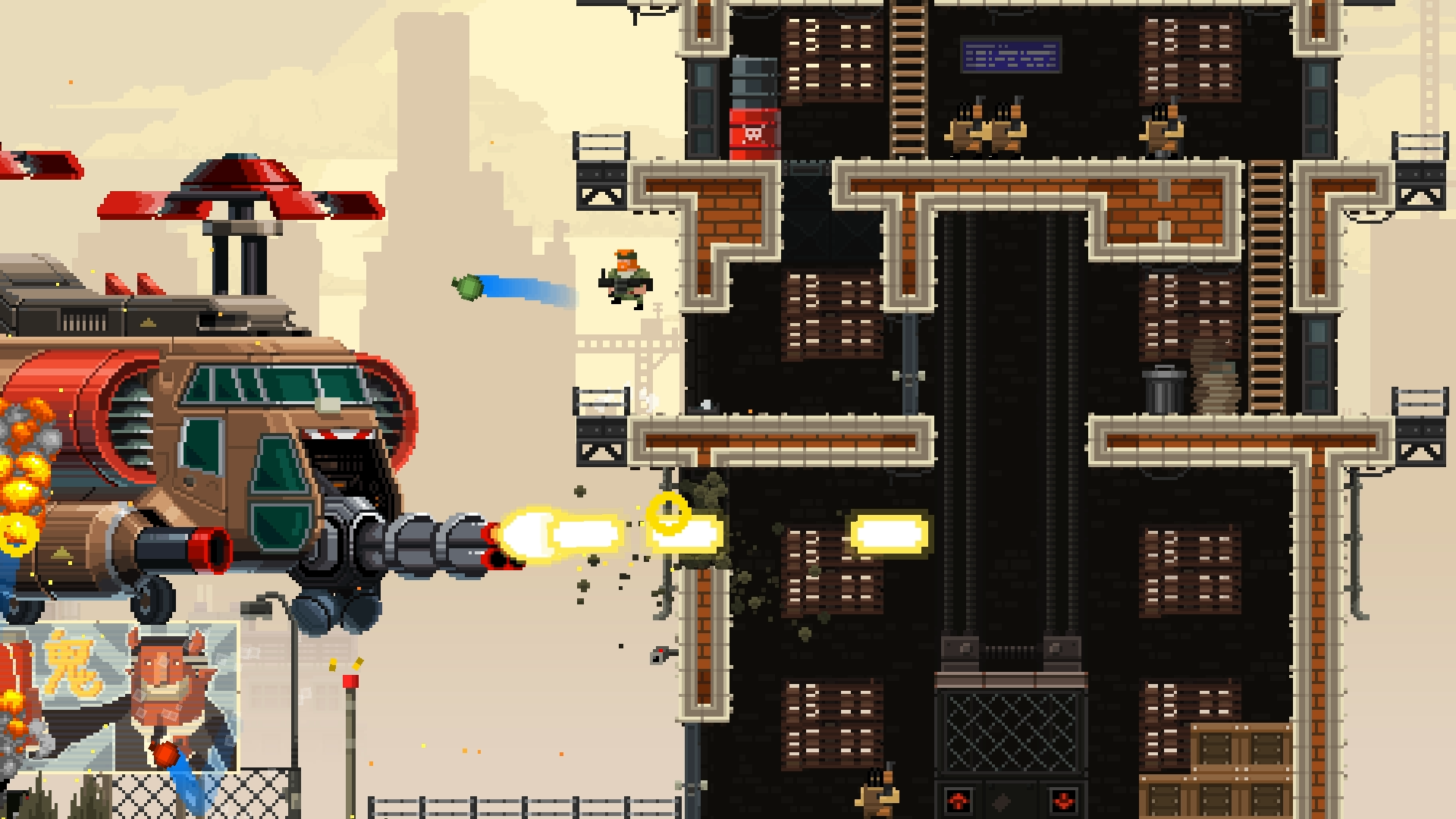 Broforce_Braddock - Screen 2