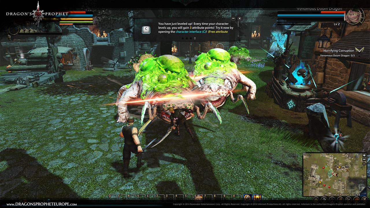 Dragon's Prophet New Tutorial 01