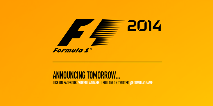 F1 2014 pre annuncio