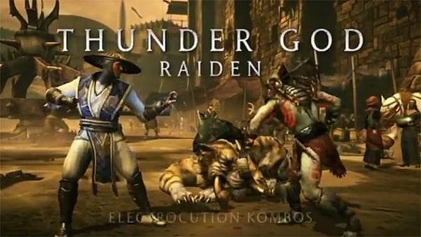 Mortal Kombat X Raiden