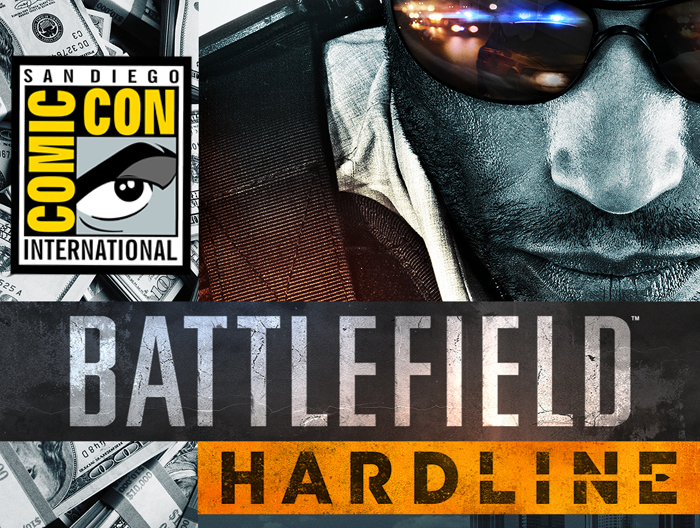 battlefield hardline comic-con