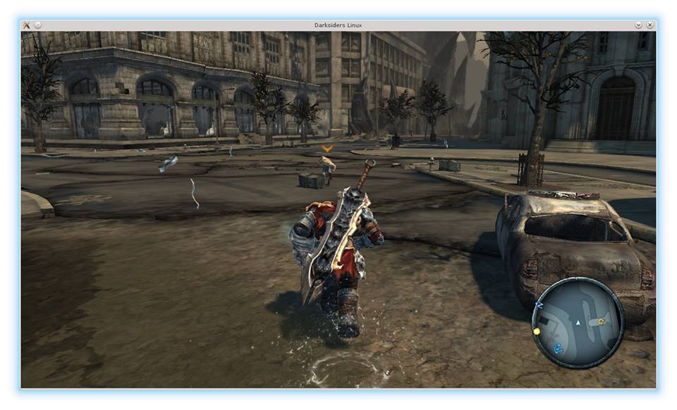 darksiders linux