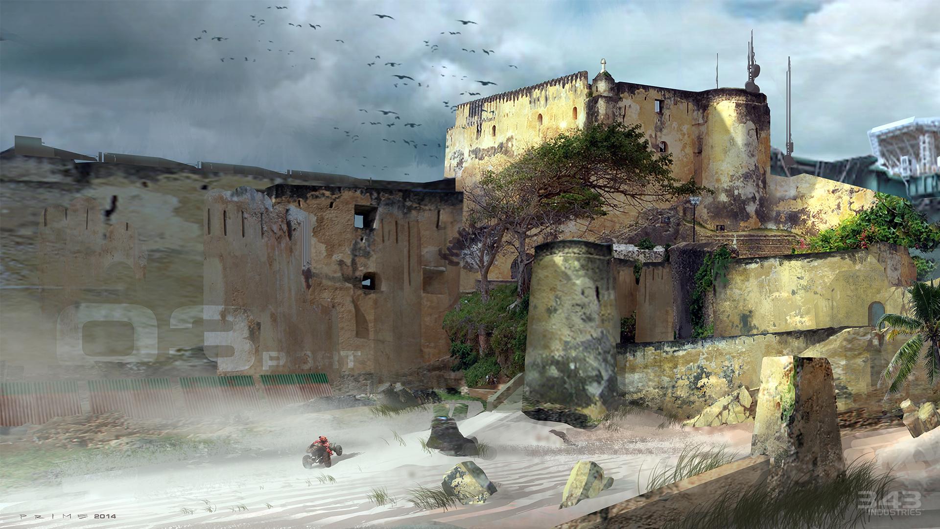 halo-2-anniversary-zanzibar-concept-art-fortress-walls
