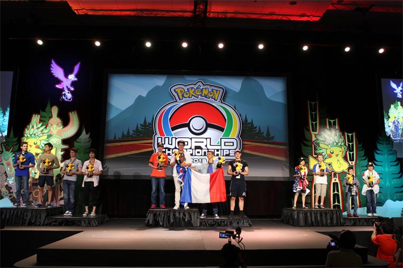 Una foto dell'edizione 2013 dei Mondiali Pokémon di Vancouver (Canada)