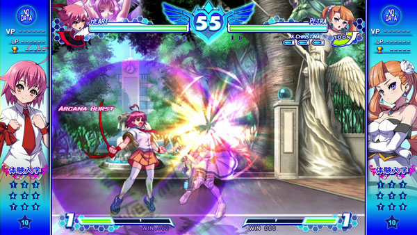 Arcana Heart 3 Love Max gameplay