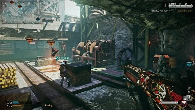Call of duty ghost nemesis goldrush map
