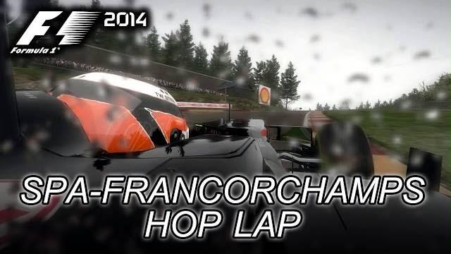 F1 2014 spa-francorchamps