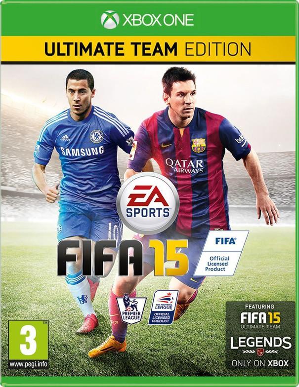 Fifa 15 copertina inglese