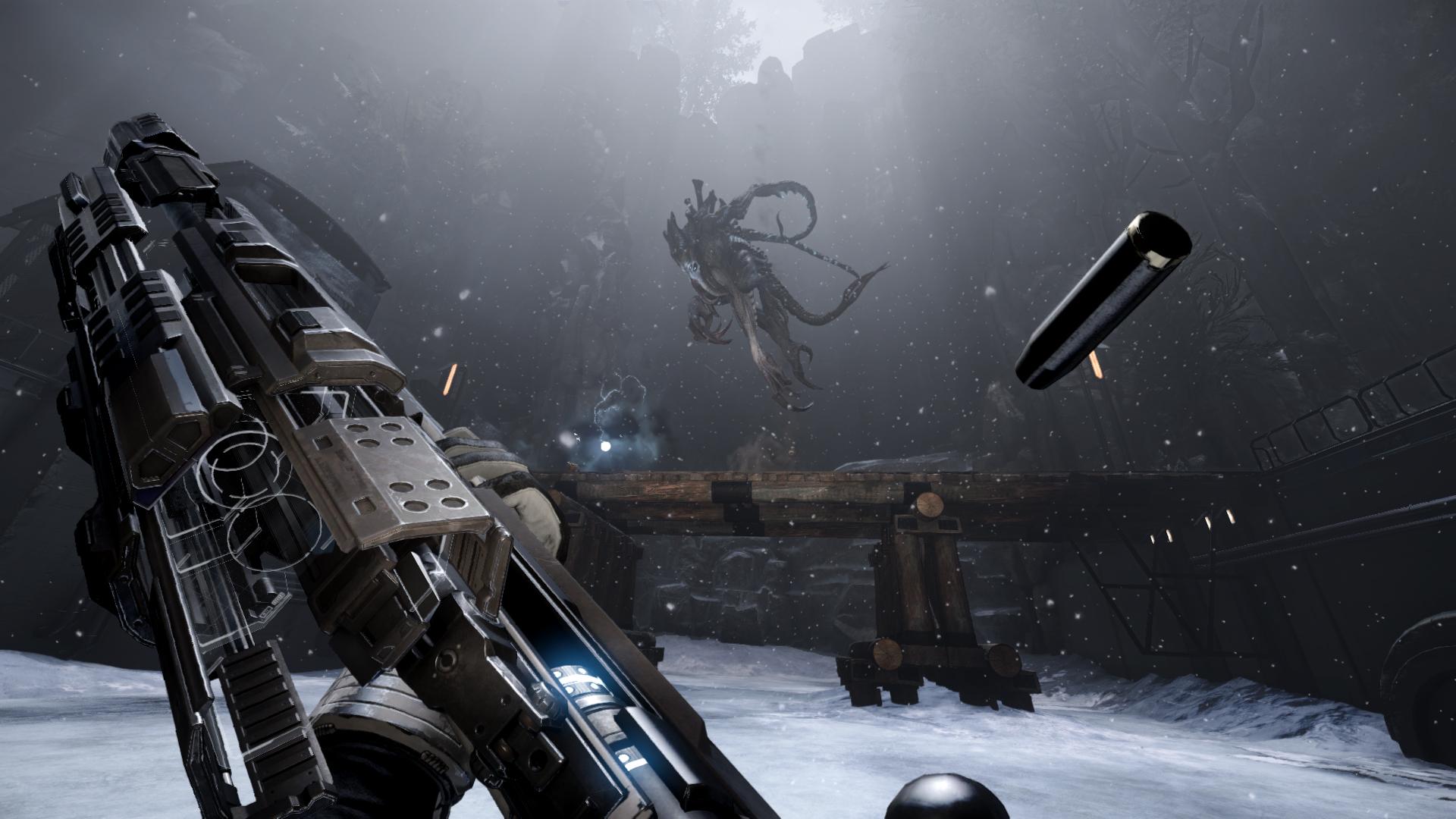 Gamescom 2014-Evolve-val-v-kraken