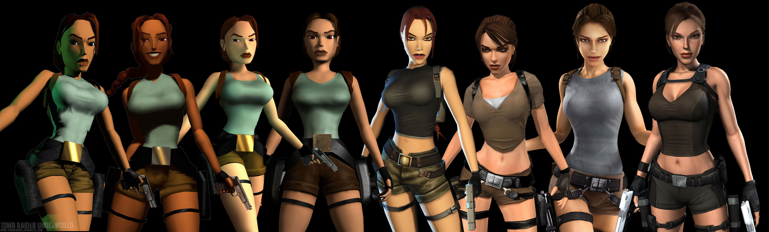 Lara-Croft-evolution-tomb-raider