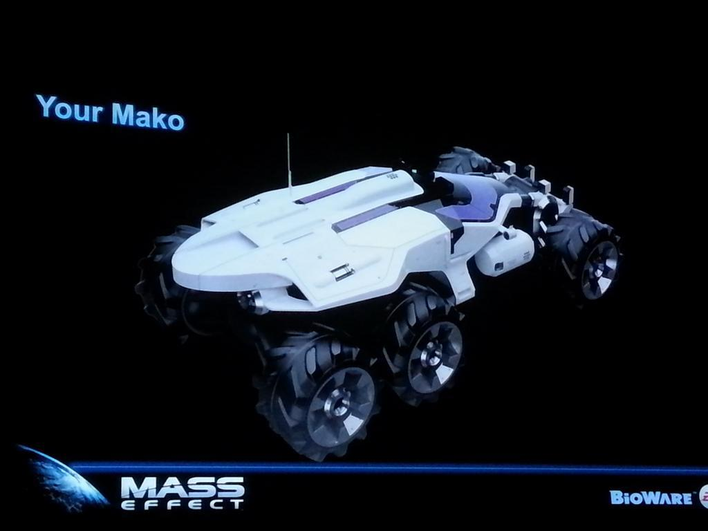 Mass Effect Mako render