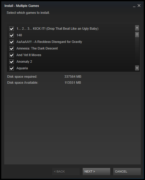 Steam download multipli