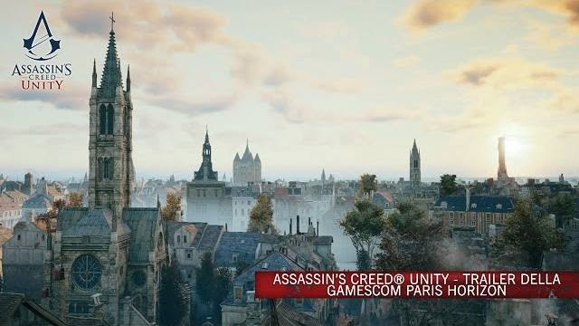 assassin's creed unity paris horizon