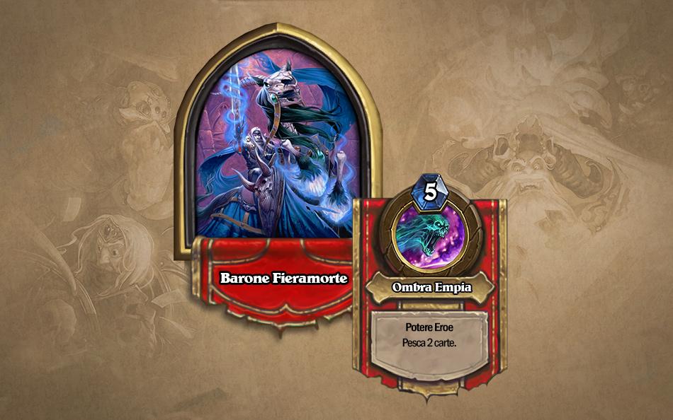 hearthstone Naxxramas ala combattenti Barone Fieramorte