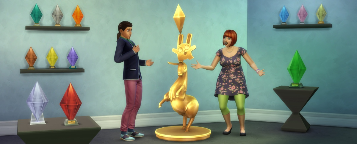 the sims 4 ricompensa