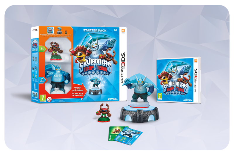 3DS_Skylanders Trap Team pack