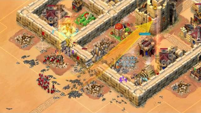 Age of empires castle siege trailer di lancio