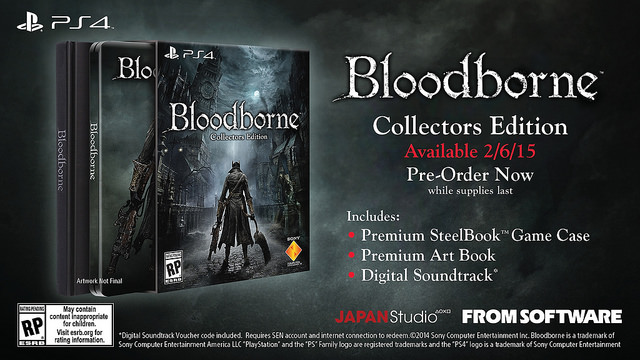 Bloodborne collectors editin