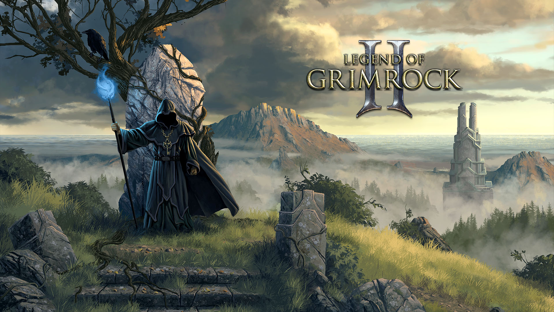 Legedn of Grimrock key art