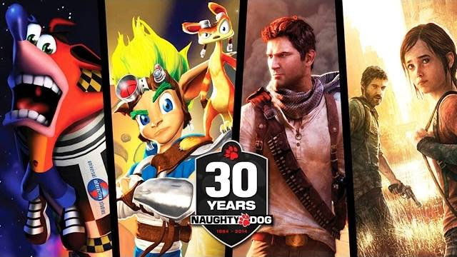Naughty Dog compie 30 anni