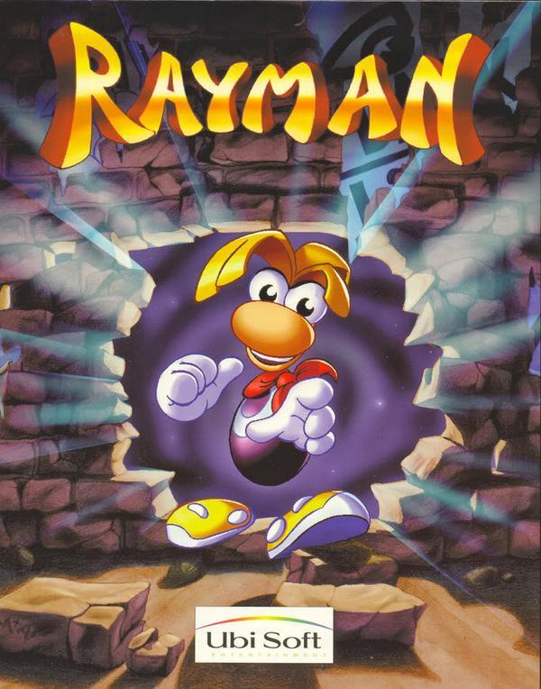 Rayman original cover