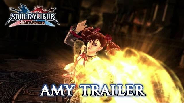 Soul Calibur Lost Swords Amy trailer